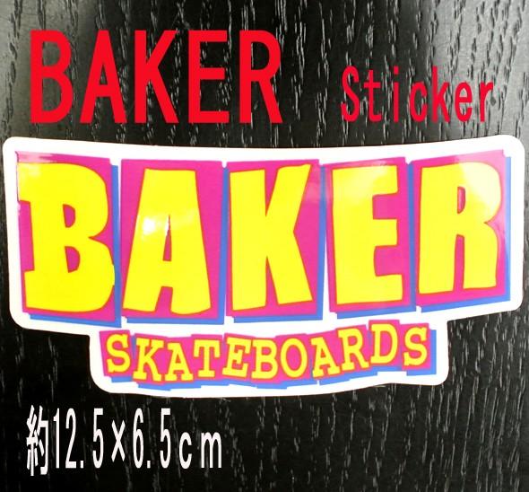BAKER/ベイカー BAKER LOGO YELLOW STICKER/ステ...
