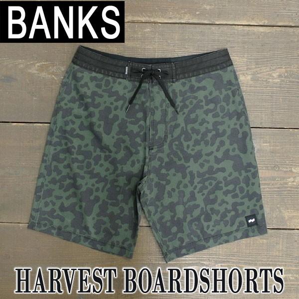 BANKS/バンクス HARVEST BOARDSHORTS COMBAT 男性...