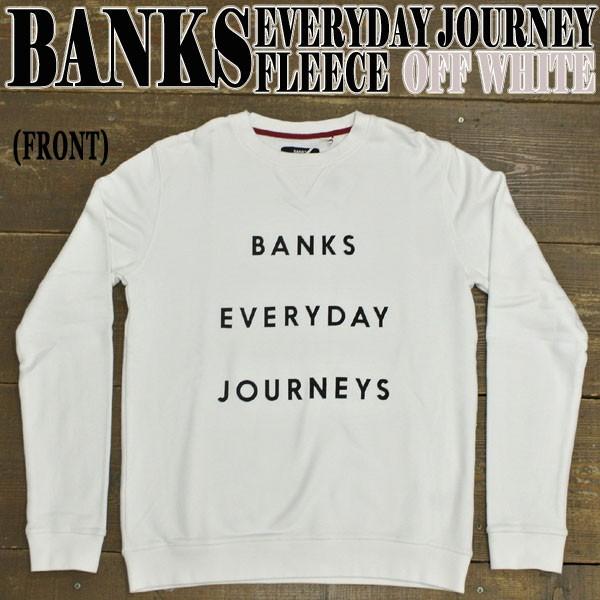 BANKS/バンクス EVERYDAY JOURNEYS FLEECE OFF WH...