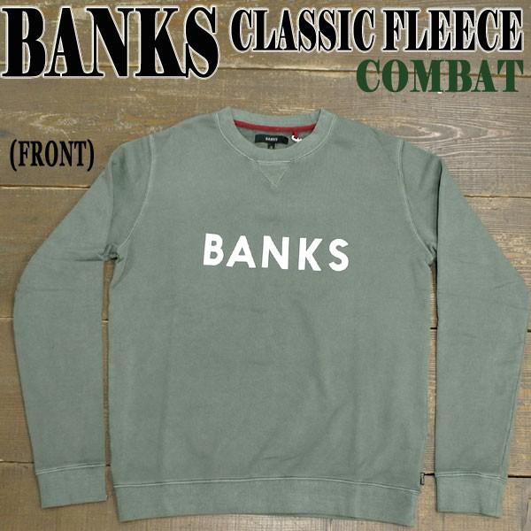 BANKS/バンクス CLASSIC FLEECE COMBAT メンズ 男...