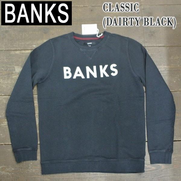 BANKS/バンクス CLASSIC DIRTY BLACK メンズ 男性...