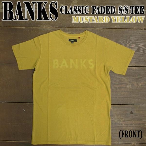 BANKS/バンクス 半袖Tシャツ CLASSIC FADED MUST...