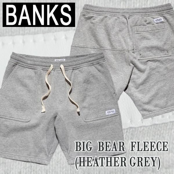 BANKS/バンクス BIG BEAR FLEECE PANT メンズ ス...
