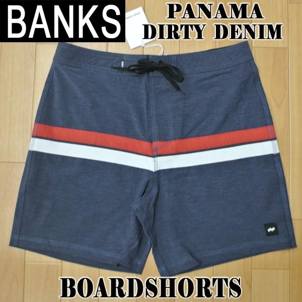 BANKS/バンクス PANAMA BOARDSHORTS DIRTY DENIM ...