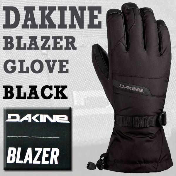 DAKINE/ダカイン BLAZER GLOVE BLACK 17-18モデル...