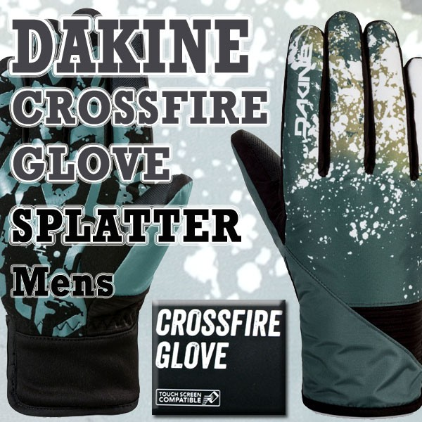 DAKINE/ダカイン CROSSFIRE GLOVE SPLATTER 17-18...