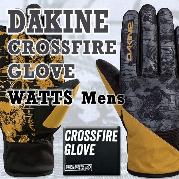 DAKINE/ダカイン CROSSFIRE GLOVE WATTS 17-18モ...