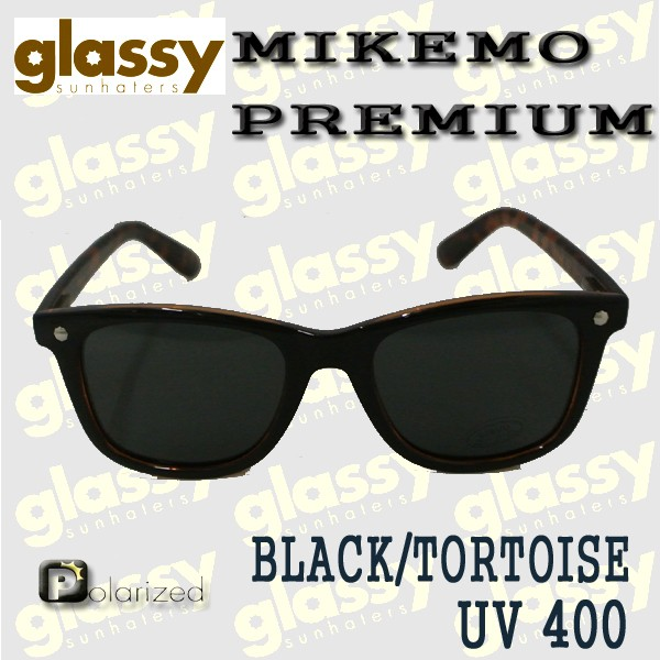1ba9bb3bc95 GLASSY SUNHATERS サングラス MIKEMO PREMIUM POLARIZED BLACK TORTOISE サングラス EYEWEAR アイウェア  偏光レンズ