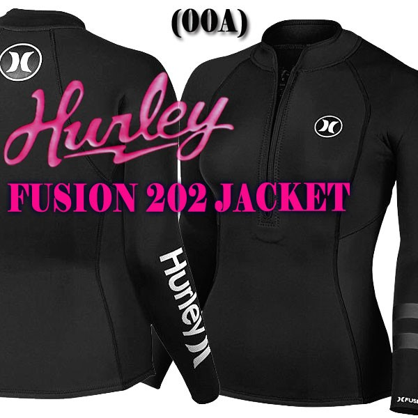 HURLEY レディース FUSION 202 L/S JACKET 00A フ...