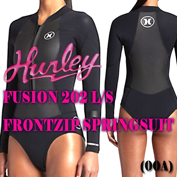HURLEY レディース FUSION 202 L/S SPRING 00A ロ...