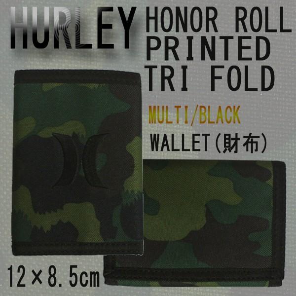 HURLEY/ハーレー HONOR ROLL PRINTED TRI FOLD WA...