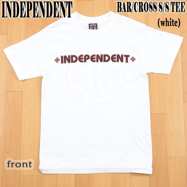 INDEPENDENT/インデペンデント BAR/CROSS S/S TEE...