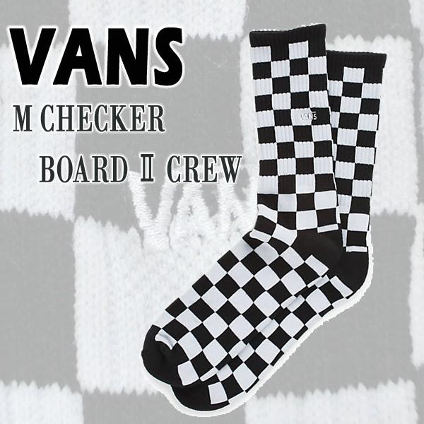 VANS/バンズ メンズ ソックス CHECKER BOARD 2 CR...