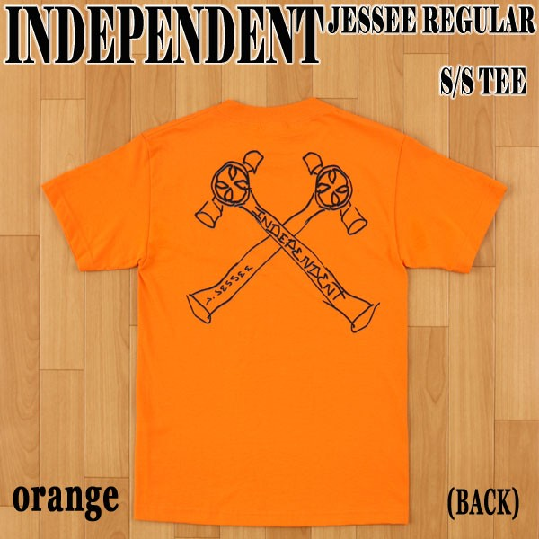 INDEPENDENT/インデペンデント JESSEE S/S TEE OR...