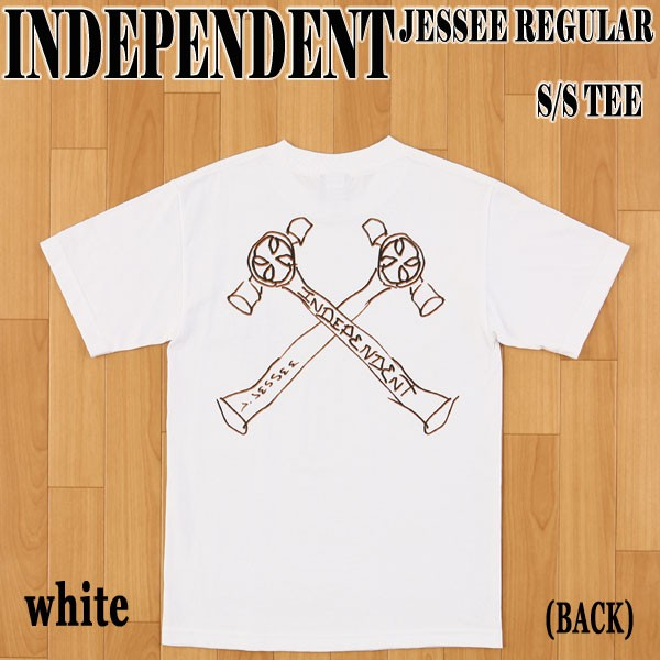 INDEPENDENT/インデペンデント JESSEE S/S TEE WH...