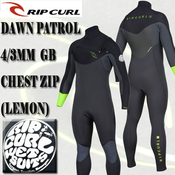 RIP CURL/リップカール 4/3mm DAWN PATROL CHEST ...