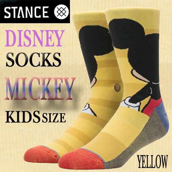 STANCE/スタンス DISNEYモデル KIDS ソックス 【M...