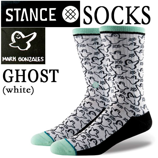STANCE/スタンス GHOST WHITE SOCK スケーターソ...