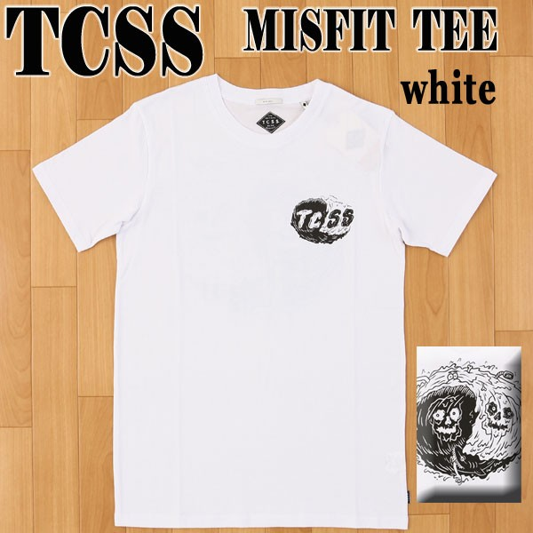 TCSS/The Critical Slide Society MISFIT S/S TEE...