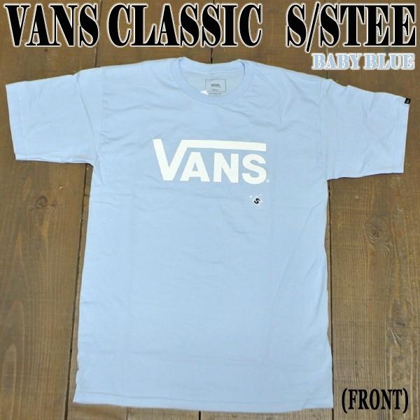 VANS/バンズ VANS CLASSIC S/S TEE BABY BLUE メ...