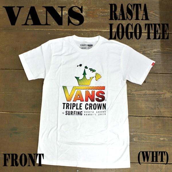 VANS/バンズ 2016 VTCS RASTA LOGO S/S TEE WHITE...