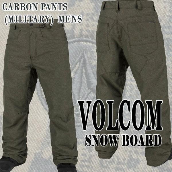VOLCOM/ボルコム CARBON PANTS MIL メンズ 男性用...