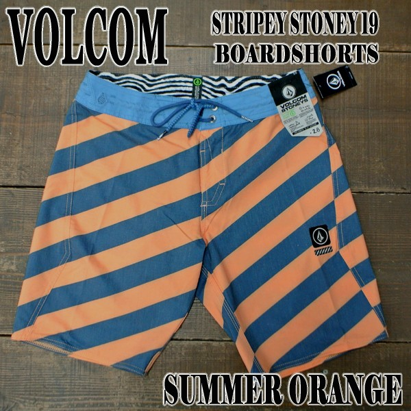 VOLCOM/ボルコム STRIPEY STONEY 19 BOARDSHORTS ...