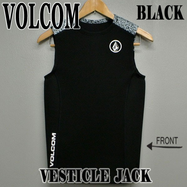VOLCOM/ボルコム VESTICLE JACKET BLK 2018 メン...
