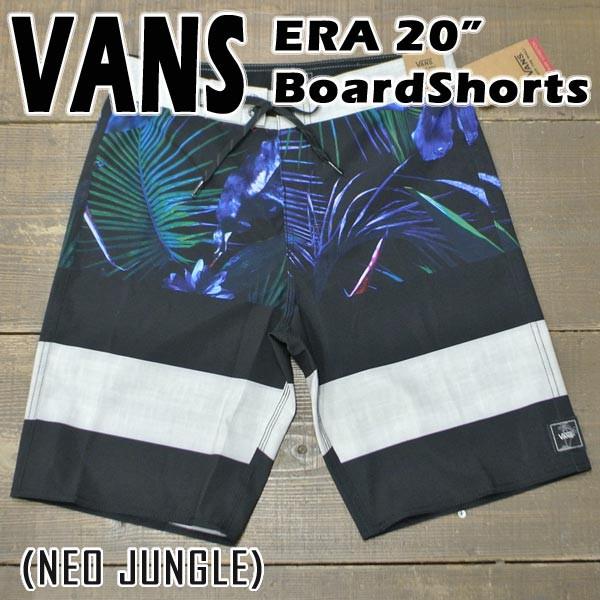 VANS/バンズ ERA 20 BOARDSHORTS NEO JUNGLE 男性...