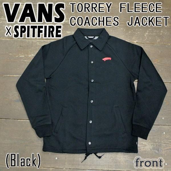 VANS/バンズ×SPITFIRE TORREY FLEECE COACHES JA...
