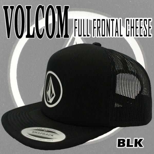 VOLCOM/ボルコム FULL FRONTAL CHEESE BLK CAP/キ...