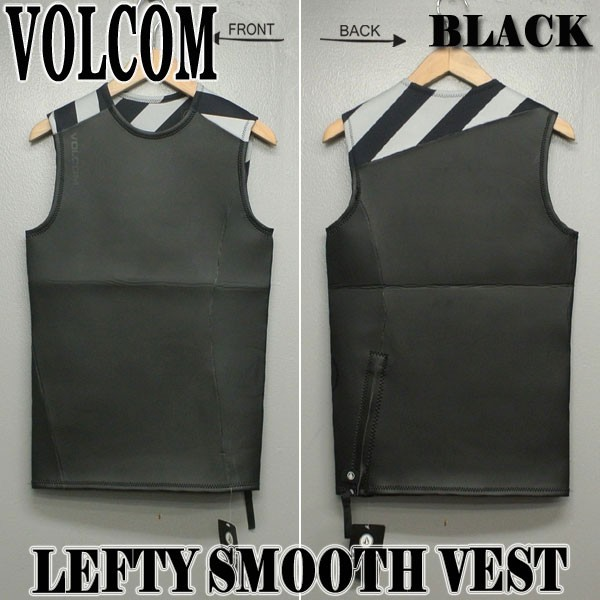 VOLCOM/ボルコム LEFTY SMOOTH VEST BLACK メンズ...