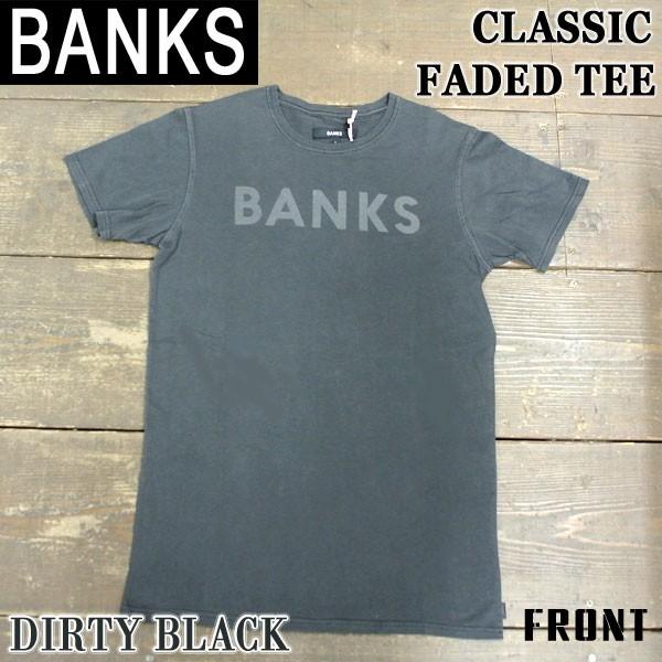 BANKS/バンクス CLASSIC FADED DIRTY BLACK メン...