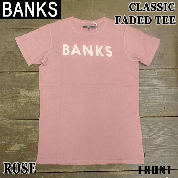 BANKS/バンクス CLASSIC FADED ROSE メンズS/S 半...