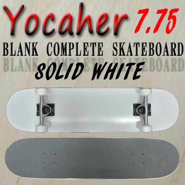 YOCAHER コンプリートスケートボード/スケボー BL...