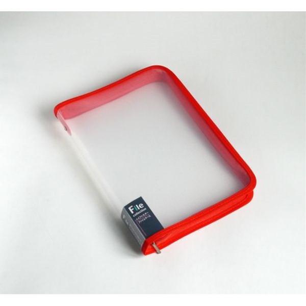 ファイルケース ファスナー付 A4サイズ用 [...