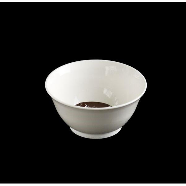 中鉢 レンジ対応 直径12.5cm 白