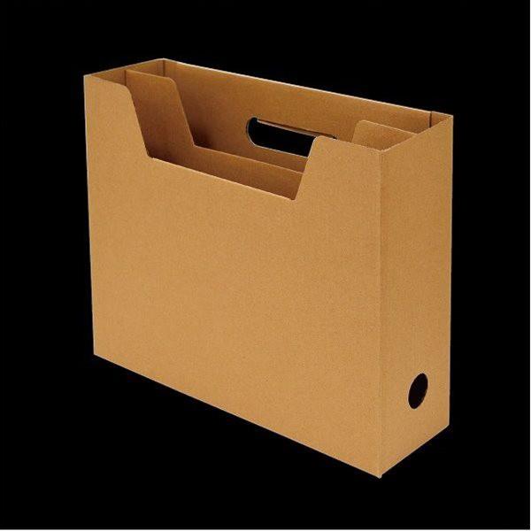 ファイルボックス A4サイズ収納可 ヨコ型 仕...