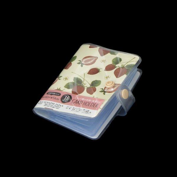 カードホルダー 16ポケット フルーツ柄 [柄...