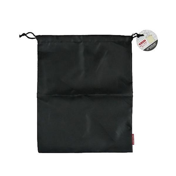 巾着袋 36×29cm 黒