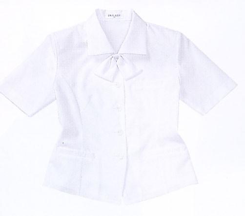 半袖オーバーブラウス(ホワイト)