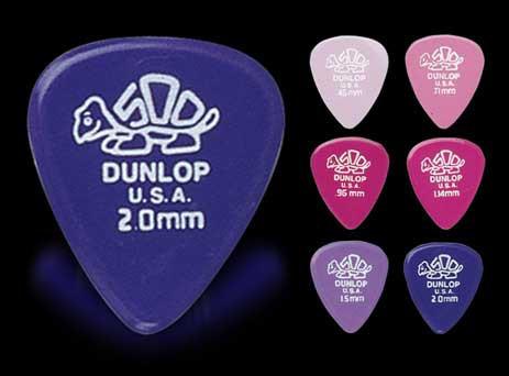 Jim Dunlop/ピック 41R DELRIN 500 Standard【ダ...