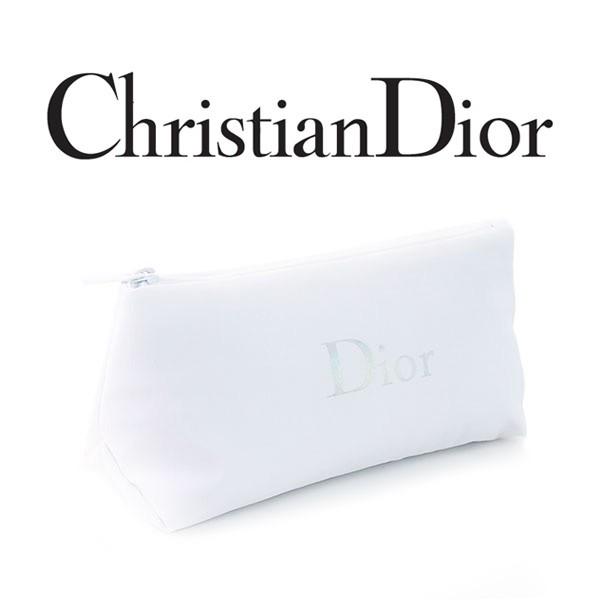クリスチャンディオール ホワイトポーチ(002)【W_...