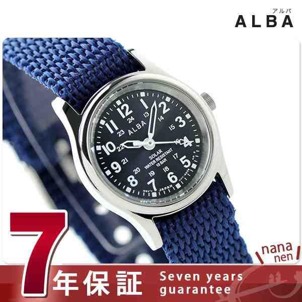 セイコー アルバ ソーラー レディース 腕時計 AEG...