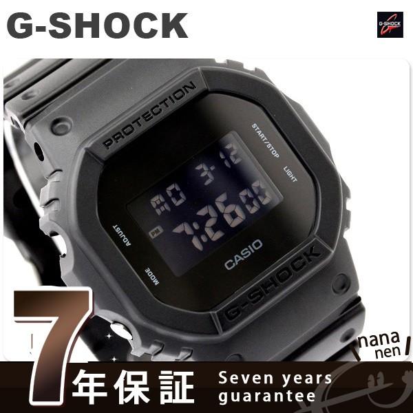 【あす着】CASIO G-SHOCK G-ショック ソリッドカラーズ オールブラック DW-5600BB-1DR ブラック