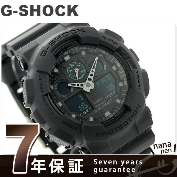 【あす着】G-SHOCK ミリタリーブラック・シリーズ...