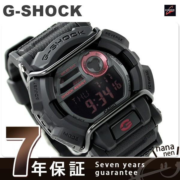 【あす着】G-SHOCK プロテクター メンズ 腕時計 クオーツ GD-400-1DR カシオ Gショック オールブラック