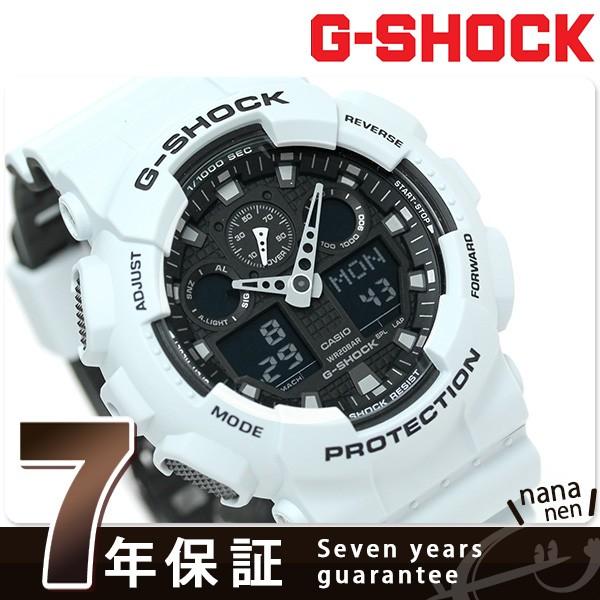 【あす着】G-SHOCK スペシャルカラー レイヤードカラー 腕時計 GA-100L-7ADR Gショック ブラック×グレー