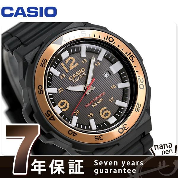 カシオ チープカシオ ソーラー メンズ 腕時計 MRW...