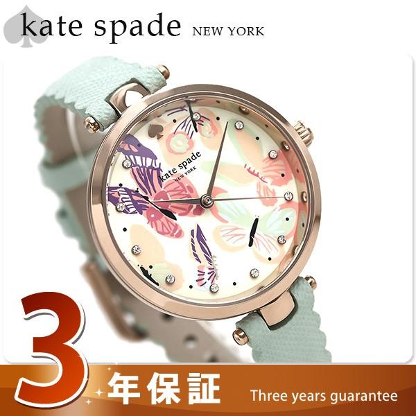 【あす着】ケイトスペード ホーランド 34mm 蝶 レ...